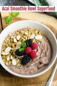 How to Make an Acai Smoothie Bowl - Get healthy with a delicious smoothie bowl loaded with fruits, superfoods, and protein.