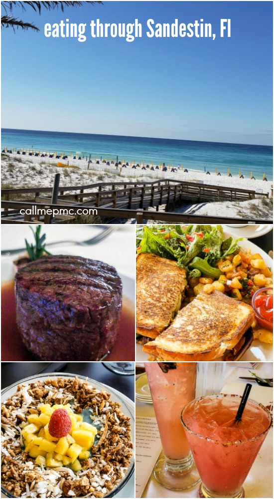 Eating our way through Sandestin Florida - Great places to eat while you're visiting Sandestin, Florida.