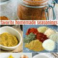 FAVORITE HOMEMADE SEASONINGS