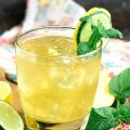 FIZZY BOURBON LEMONADE RECIPE