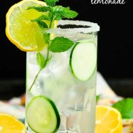 GIN SPIKED CUCUMBER LEMONADE