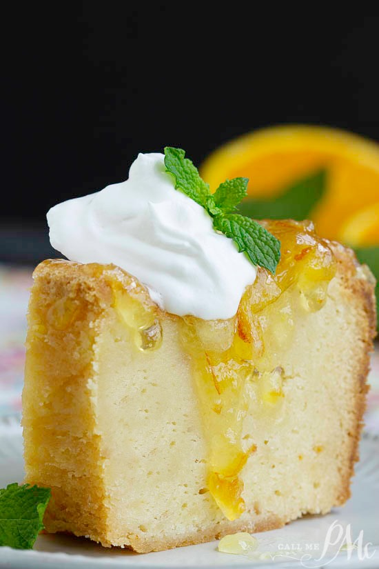 Grannys Orange Marmalade Pound Cake is simple and elegant with a deliciously sticky glaze! This pound cake is sweet, dense and fabulous!