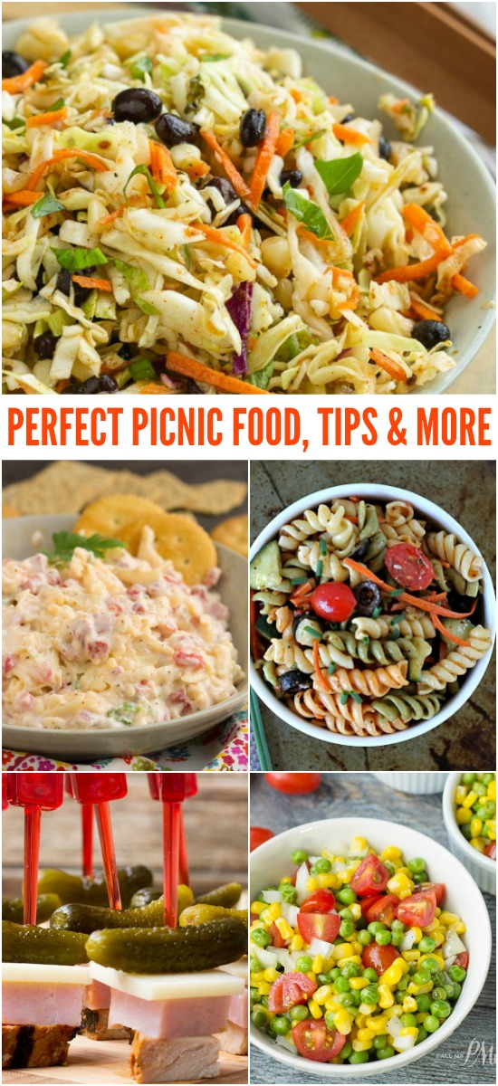 Perfect Picnic Food and Tips - Spruce up your picnic, minimize your stress, and enjoy these delicious, make-ahead picnic recipes.