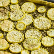PESTO SQUASH TART RECIPE