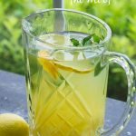 Pineapple Lemonade Punch Recipe (no mix) is the perfect tropical fruit drink for summer! A simple, tasty summer punch perfect for entertaining.