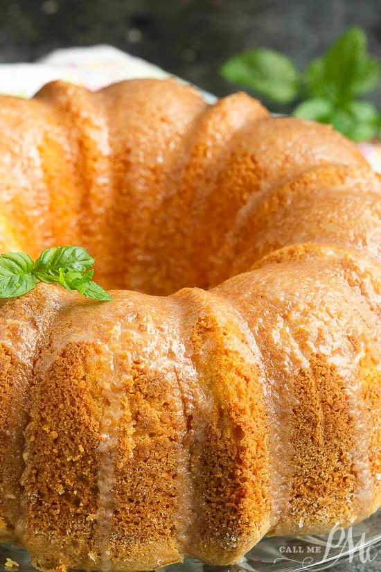 This delicate From Scratch Melted Vanilla Ice Cream Pound Cake is incredibly moist and flavorful. It transports well and makes the perfect recipe for holiday or potluck.