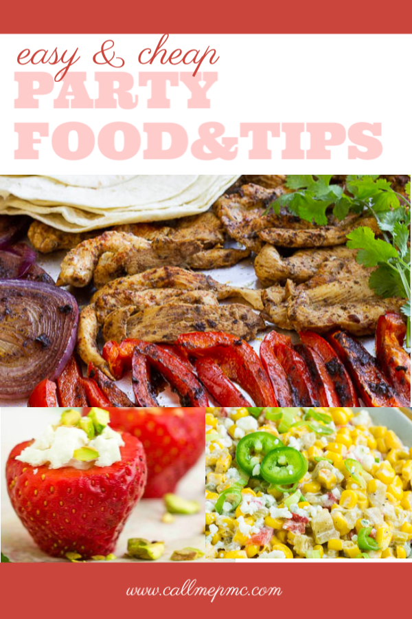 Cheap and Easy Party Food and Tips - It doesn't matter what type of party you're throwing from a birthday party to family reunions or game day watch parties, there must be good food!
