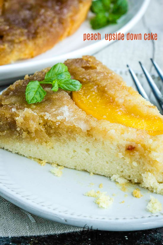 The perfect end-of-summer dessert, Peach Upside Down Cake is bursting with flavor. Easy to make and completely addictive.