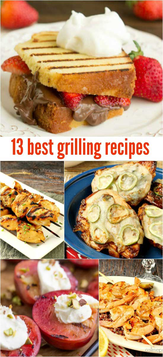 Favorite Grilled Recipes that you've got to grill now before it gets cold! #grilled #grilling #maindishes #grill #steak #cookout