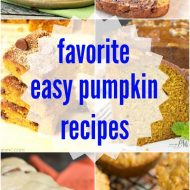 My 16 Favorite Easy Pumpkin Recipes