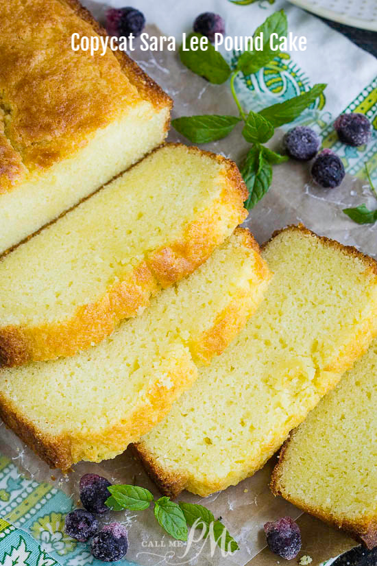 The perfect sweet treat, Copycat Sara Lee Pound Cake Recipe is moist, buttery, has a hint of lemon, and melts in your mouth. This recipe makes one loaf.