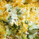 Keto Broccoli Cheese Casserole is a low-carb, keto-friendly, healthy take on your favorite comfort food that the whole family will enjoy.