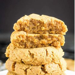 BEST FLOURLESS PEANUT BUTTER COOKIES