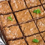 Fudge Better Than Boxed Brownies are rich, fudgy, decadent and delicious! This brownie recipe is irresistible. They're the perfect treat and sure to delight. #homemade #dessert #recipe #chocolate #brownies