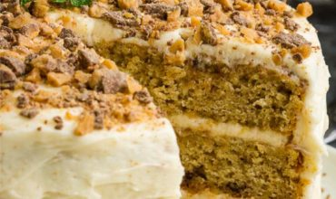 BEST TOFFEE BANANA LAYER CAKE