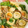 CREAMY ITALIAN SAUSAGE SOUP RECIPE