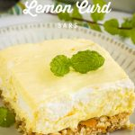 Lemon Curd Fluff Bars