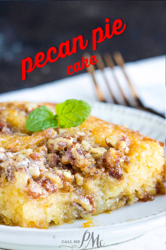 Best Pecan Pie Cake is an easy, decadent, butter, caramel and pecan flavored sheet cake. This cake recipe is from scratch and has the delicious flavors of a pecan pie! #pecans #pie #pecanpie #cake #dessert #recipe #fromscratch