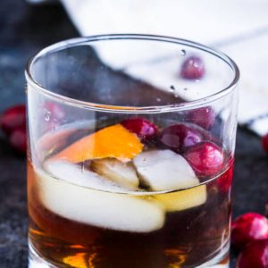 BEST CRANBERRY OLD FASHIONED RECIPE