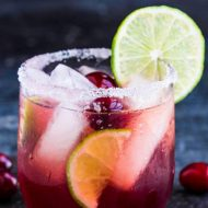 FESTIVE CHRISTMAS MARGARITA RECIPE