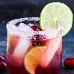 Festive Christmas Margarita