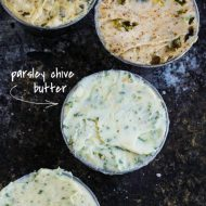 PARSLEY CHIVE BUTTER