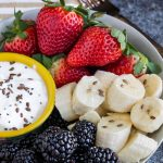 fruit yogurt healthy snack #healthy #snack #fruit #yogurt #Greekyogurt