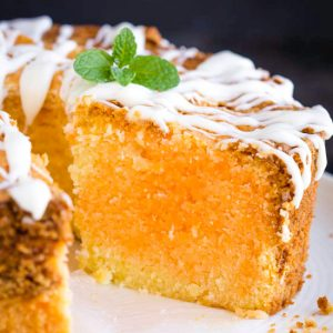 ORANGE CREAMSICLE POUND CAKE