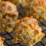 Jiffy Cornmeal Mix Sausage Balls