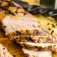 DILL PICKLE BRINED GRILLED PORK