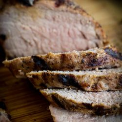 Flavorful and moist, Rosemary Pork Tenderloin recipe is melt-in-your-mouth-tender and bursting with flavor.Pineapple soy sauce marinade. #pork #tenderloin #porktenderloin #rosemary #soysauce #pineapple