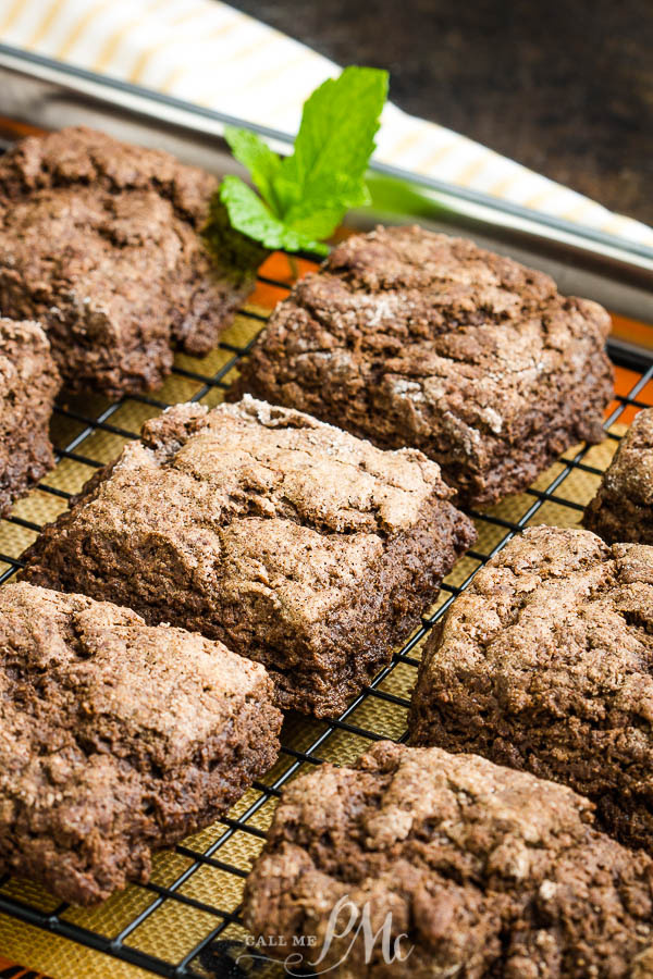 Rich with chocolate, but not too sweet, this Chocolate Biscuits Recipe produces a wonderful morning treat that is pretty easy to make. #chocolate #biscuits #scones #breakfast #cocoa #recipe