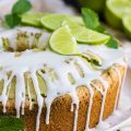 KEY LIME COCONUT MARBLED POUND CAKE