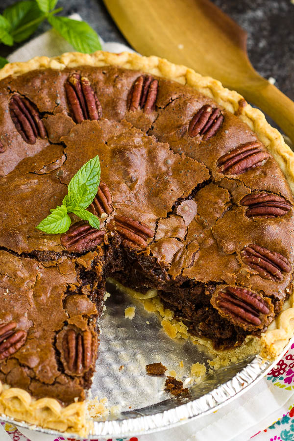 Whole Fudge Pecan Pie