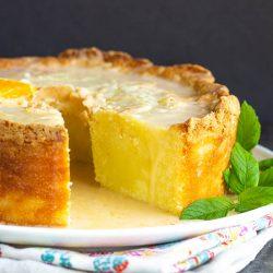 Whip up this super tasty glazed Citrus Pound Cake to make the most of the citrus season! #lemon #orange #cake #poundcake #poundcakepaula #dessert #recipe #moist #paula #homemade #bundt