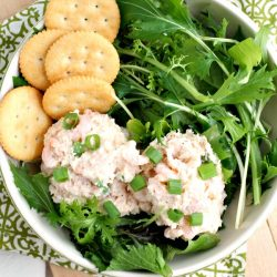 Crabmeat and Shrimp Salad Recipe is light, refreshing, versatile. This quick easy Southern seafood salad tastes has lemon & is served cold. #shrimp #crab #seafood #Southern #coldsalad #salad #lemon #recipe #lunch #sidedish