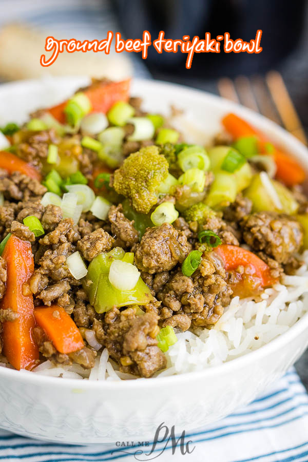 Ground Beef Teriyaki Bowl Call Me Pmc