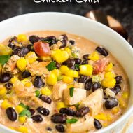 SOUTHWEST CREAMY WHITE CHICKEN CHILI