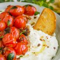 WHIPPED FETA WITH BLISTERED TOMATOES