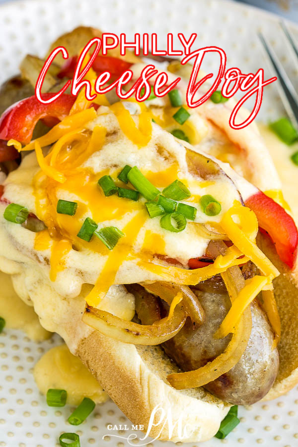 Philly Cheese Dog recipe