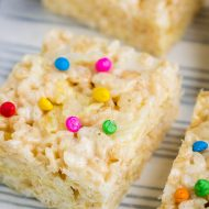 RUFFLES RICE KRISPIE TREATS