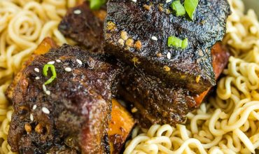 BRAISED KOREAN SPICY AND SWEET SHORT RIBS