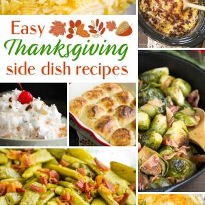 Best Holiday Side Dish Recipes a delicious roundup of holiday side dishes for the holidays that your family will love! #Thanksgiving #ThanksgivingDinner #ThanksgivingRecipes #Recipes #SideDish #sidedishes #vegetables #casseroles