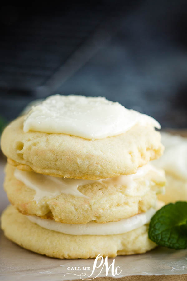 Soft Amish Sugar Cookies are wonderfully puffy, chewy, and melt in your mouth delicious, and best of all they are no roll! #cookies #sugarcookies #recipes #dessert #baking