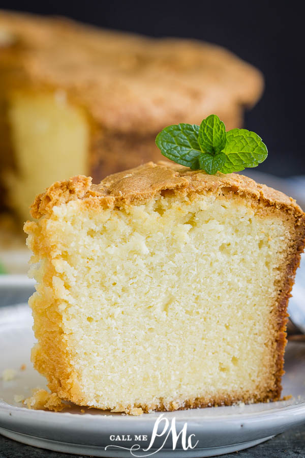 Old School Southern Butter Pound Cake is moist, tender, fine-crumbed, and loaded with a buttery flavor. Learn how to make a perfect pound cake with my simple tips.#cake #poundcake #poundcakepaula #dessert #recipes #callmepmc #moist #easy #Southern #recipe #cake #bourbon #poundcake #homemade #fromscratch #desserts