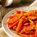 Healthy Homemade Roasted Carrots Ready to Eat
