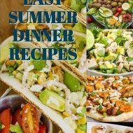 EASY SUMMER DINNER RECIPES