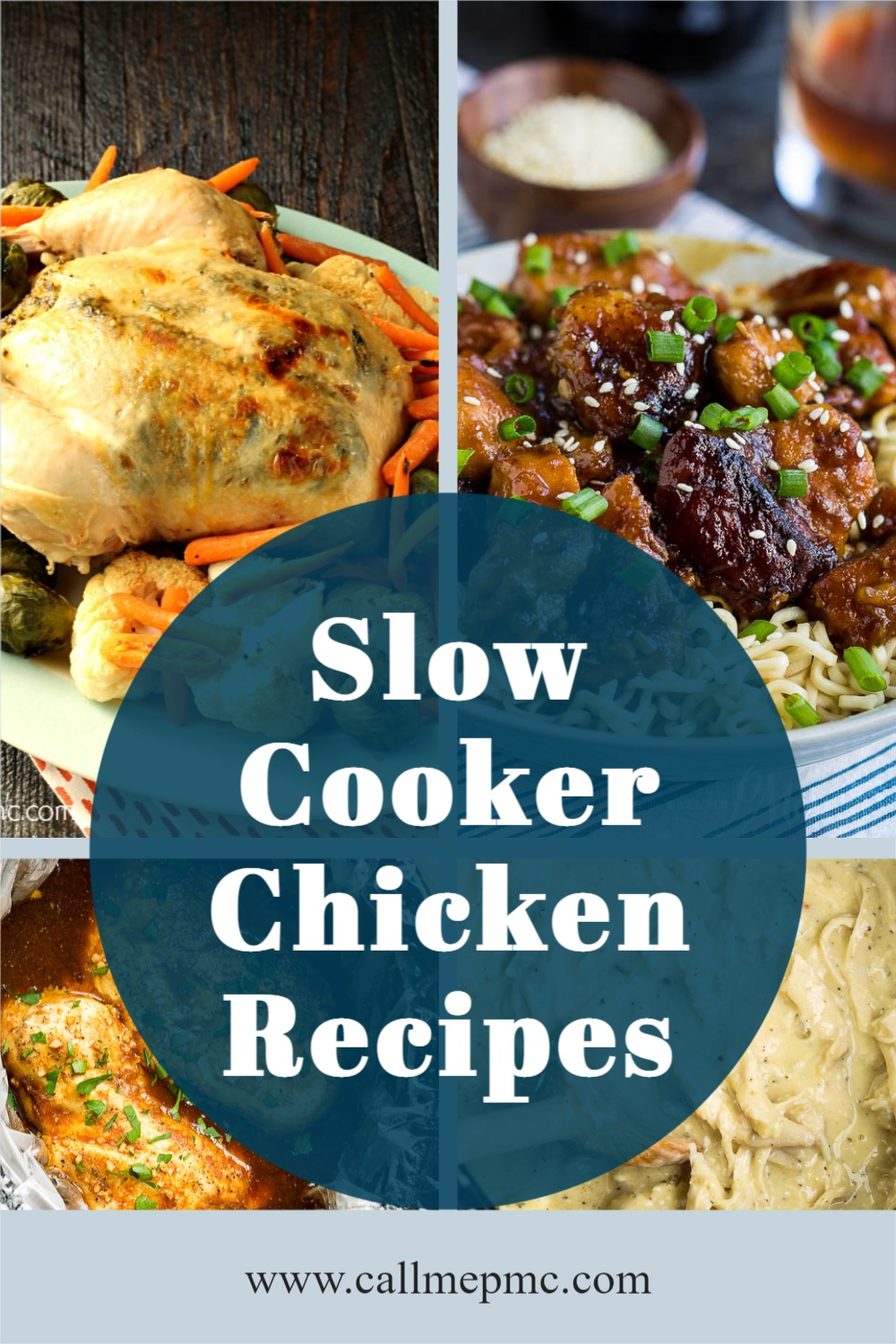 Your slow cooker is the best appliance for getting a healthy and hearty meal on the table during the summer without heating up the house! #slowcooker #roundup #recipes #callmepmc