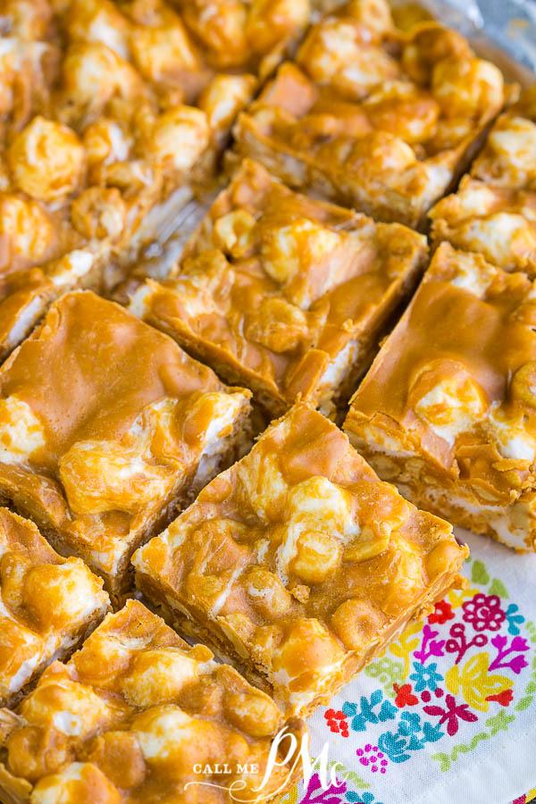 Butterscotch Marshmallow Bars Recipe