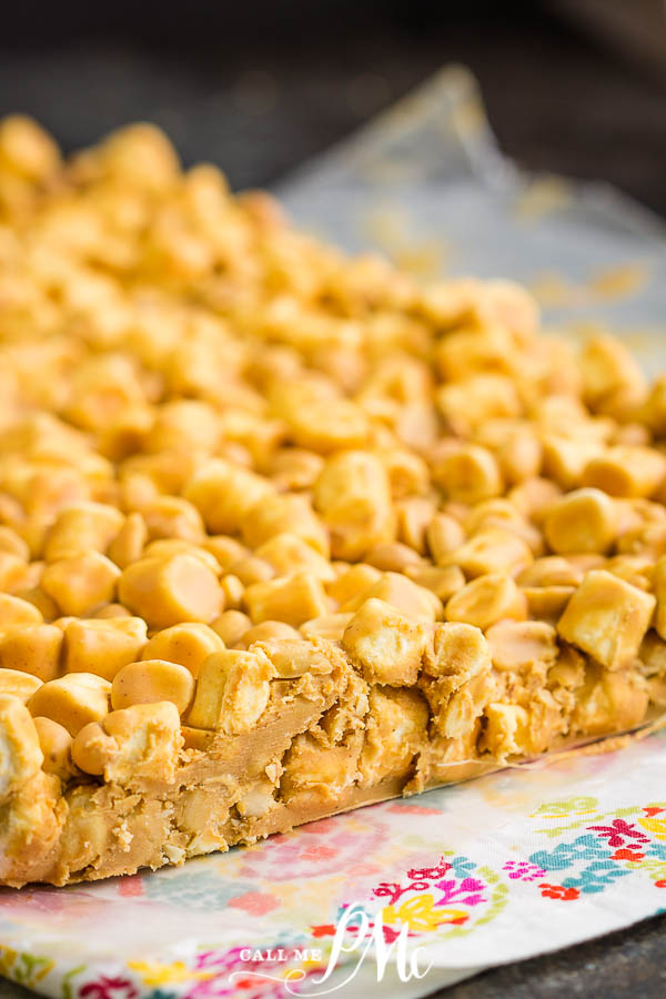 Salted Nut Roll Recipe are sweet, salty, crunchy, & chewy! Great for crowds, easy to make, great for potlucks, parties, & gameday tailgating!
